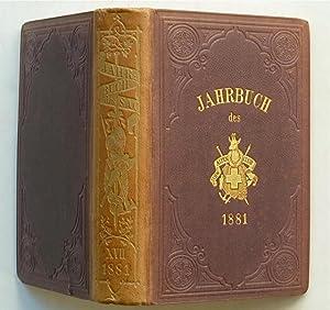 Jahrbuch des Schweizer Alpenclub. Siebzehnter [17., XVII.] Jahrgang 1881-1882. [Einband: XVII/...
