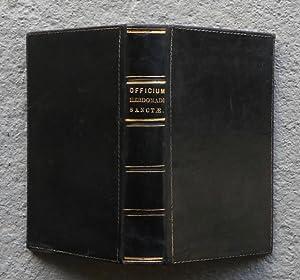 Officium Hebdomadae Sanctae Secundum Missale & Breviarium Romanum, Pii V. Pont. M. iussu editum...