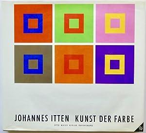 kunst der farbe by johannes itten abebooks. Black Bedroom Furniture Sets. Home Design Ideas