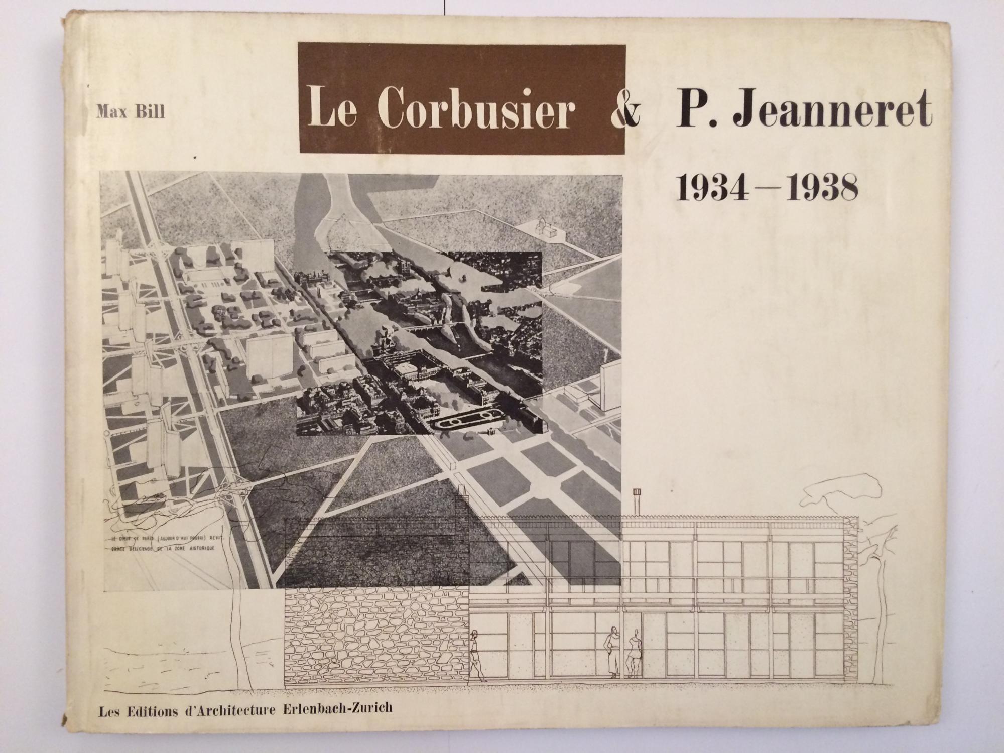 le corbusier p jeanneret oeuvre compl te 1934 1938 by le. Black Bedroom Furniture Sets. Home Design Ideas