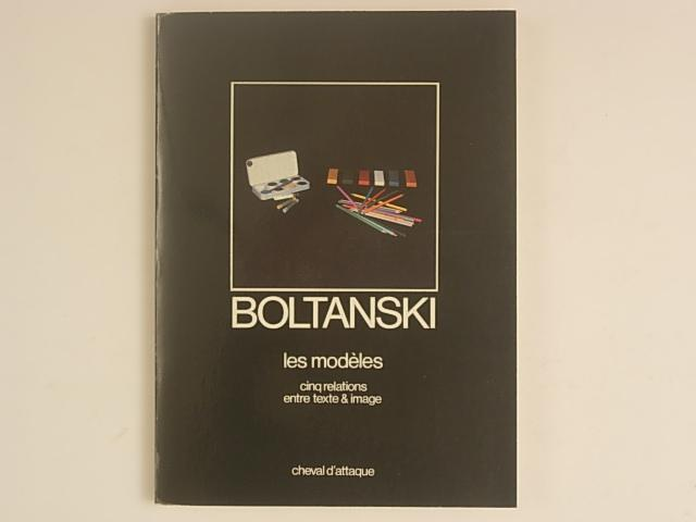 Boltanski, les modèles cinq relations entre texte & image