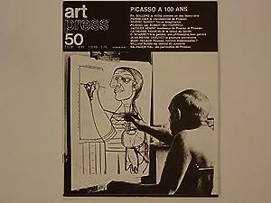 """art press 50. été 81 """"PICASSO A: Millet, Catherine; Sollers"""
