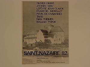 Saint-Nazaire 82 Olivier Debré, Jochen Gerz, Lefèvre: Collectif