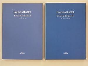 Essais historiques I & II (1 & 2) art moderne & art contemporain: Buchloh Benjamin (...