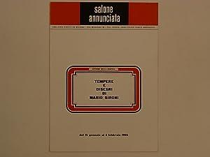 Tempere e Disegni di Mario Sironi: Sironi Mario