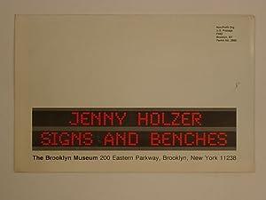 Jenny Holzer Signs and Benches: Kotik Charlotta