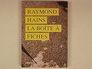 Raymond Hains La boîte à fiches: Elkar Catherine
