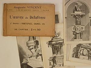 L'oeuvre de Delafosse 1° série Frontispices, Chaires