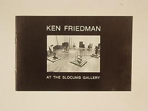 Ken Friedman at Slocumb Gallery: N/A