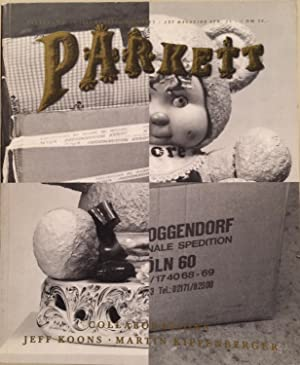PARKETT NO.19 1989 Kunstzeitschrift / Art magazine Collaboration: JEFF KOONS MARTIN KIPPENBERGER