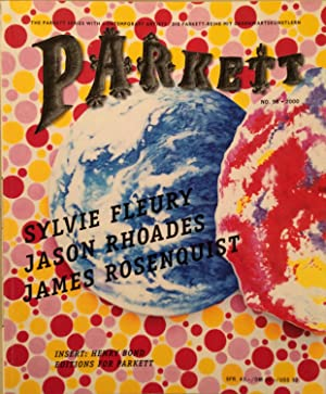 PARKETT NO.58 2000 Kunstzeitschrift / Art magazine Collaboration Sylvie Fleury Jason Rhoades Jame...