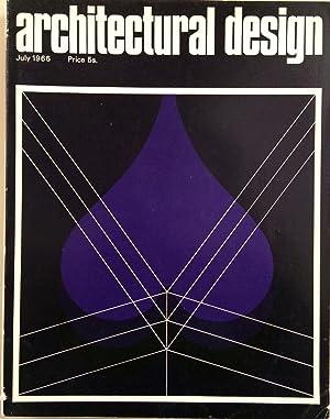 Architectural Design volume XXXVI July 1966 7: Pidgeon Monica
