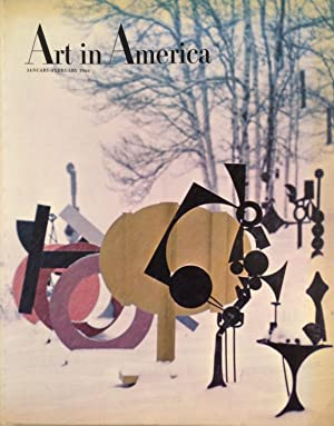 Art in America january - february 1966 Vol. 54 No. One
