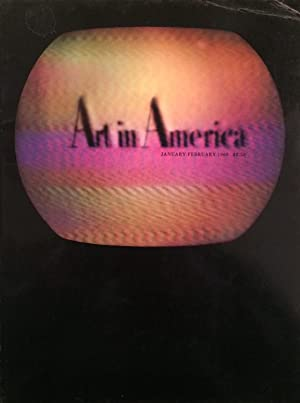 Art in America January-February 1968 Vol. 56 Number One