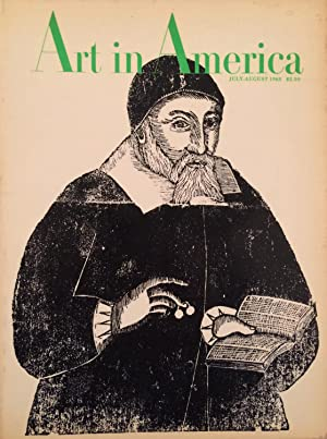 Art in America July-August 1968 Vol. 56 Number Four/