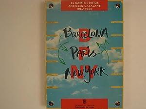 Barcelona Paris New York El cami de dotze artistes catalans 1960-1980: Roig Joan Rigol