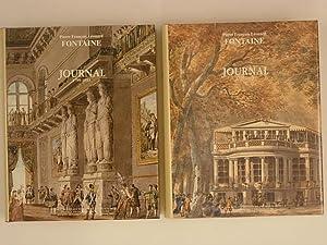 Pierre-François-Léonard Fontaine Journal (1799-1853) Tomes I et: Fontaine Pierre François