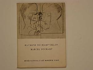 Raymond Duchamp-Villon, Marcel Duchamp: Dorival Bernard