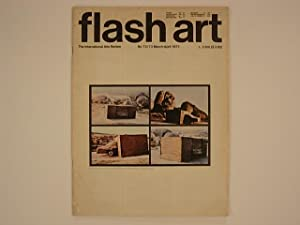 flash art No 72-73 March-April 1977 (cover Wolf Vostell)