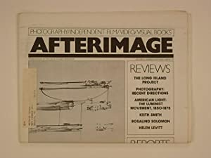 Afterimage October 1980 Volume 8, Number 3. Cover : 'Musical Score' 1963 by Frederick Sommer