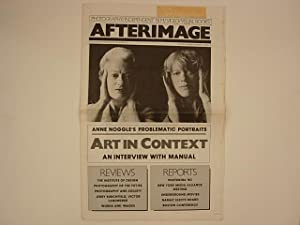 Afterimage November 1980 Volume 8, Number 4. Cover : Anne Noggle