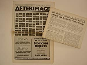 Afterimage December 1980 Volume 8, Number 5. Cover : Robbert Flick + Special supplement : NEA pho...