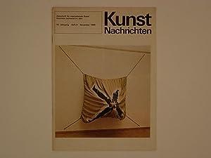Kunst Nachrichten 16. Jahrgang Heft 6 November: Althaus Peter F.;