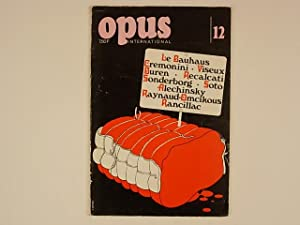 Opus International 12. Juin 1969: Lambert Jean Clarence;