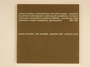 premio marzotto mostra di pittura contemporanea comunita