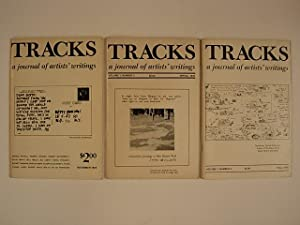 TRACKS a journal of artists' writings (3 issues) : Volume 1 : Number 1 november 1974 (cov. Ad Rei...