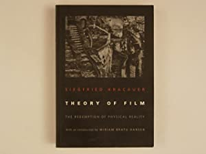 Theory of film. The Redemption of Physical Reality