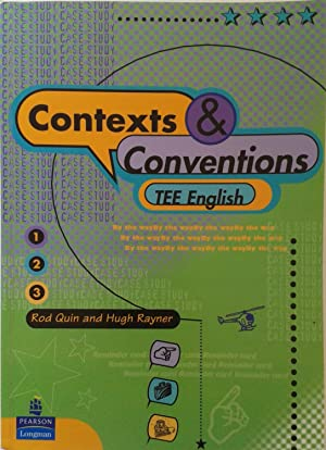 Contexts & Conventions TEE English: Rod Quin and Hugh Rayner