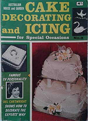 Cake Decorating And Icing For Special Occasions No.3 Vintage Magazine 1960