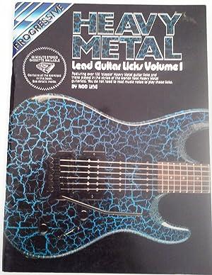 Progressive Heavy Metal Lead Guitar: Ling, R.