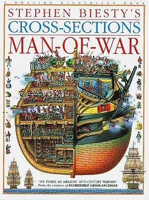 Stephen Biesty's Cross-Sections Man-of-war: Platt, Richard