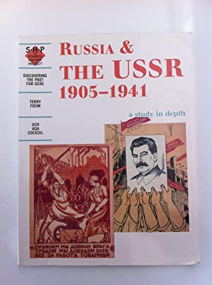Russia and the USSR 1905-1941 a study: Fiehn, Terry