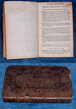 KOMETS LESHON HA-KORESH ve-ha-limudim [Hebrew-Latin Biblical Concordance: Robertson,William
