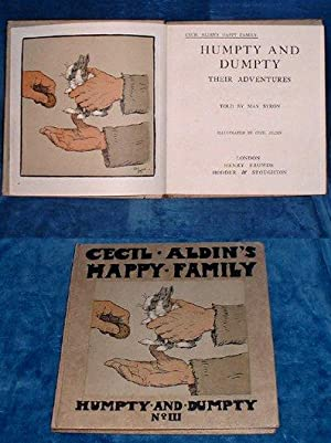 HUMPTY AND DUMPTY Their Adventures - CECIL ALDIN'S HAPPY FAMILY No.III