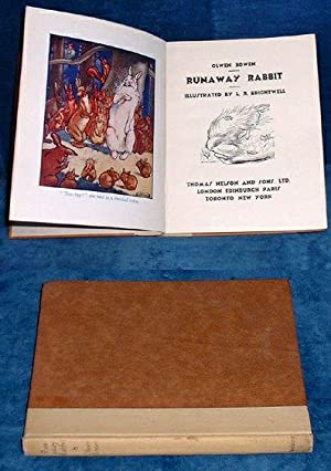 RUNAWAY RABBIT Illustrated by L.R. Brightwell: Bowen,Olwen