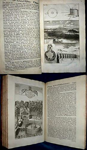 THE NATURAL HISTORY OF OXFORD-SHIRE, Being an Essay towards the Natural History of ENGLAND. By Ro...