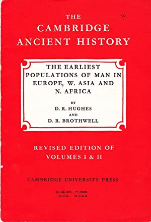 The Cambridge Ancient History: The Earliest Populations of Man in Europe, W. Asia and N. Africa.