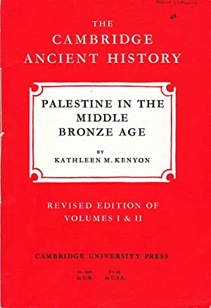 The Cambridge Ancient History: Palestine in the Middle Bronze Age.