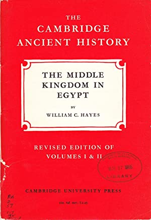 The Cambridge Ancient History: The Middle Kingdom in Egypt.