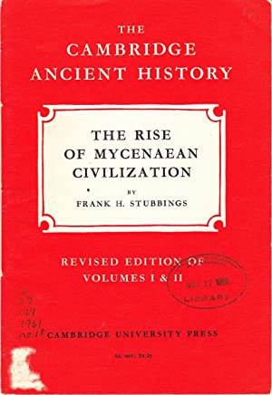 The Cambridge Ancient History: The Rise of Mycenaean Civilization.