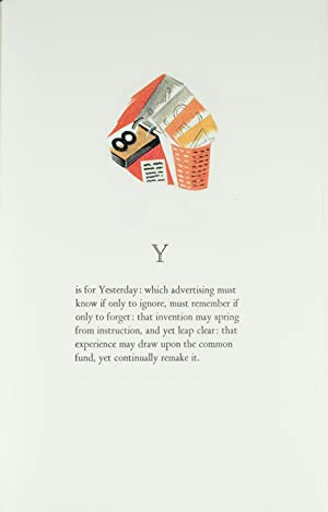 An Advertiser's Alphabet; Illustrated by Ceri Richards. Introduction by Mel Gooding: Tessimond...