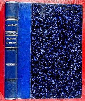 Un Paquete de Cartas de Modismos, Locuciones,: Montoto y Rautenstrauch,