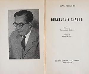 Dulcinea y Sancho: Venegas, José, Illustrated by Gori Muñoz [seud. de Gregorio Muñoz (1906-1978)]