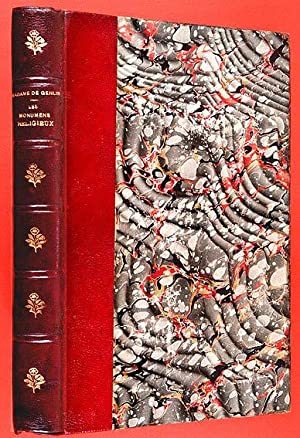 Les Monumens Religieux, ou Description critique et: Genlis, Madame de