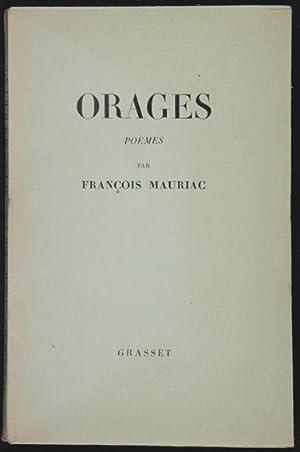 Orages : Poèmes: Mauriac, François
