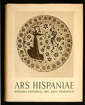 ARS HISPANIAE = Historia Universal del Arte: AA.VV.
